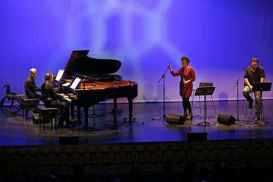 Imanol Jazz - Ainara Ortega, Petti, Iñaki Salvador eta Karlos Gimenez