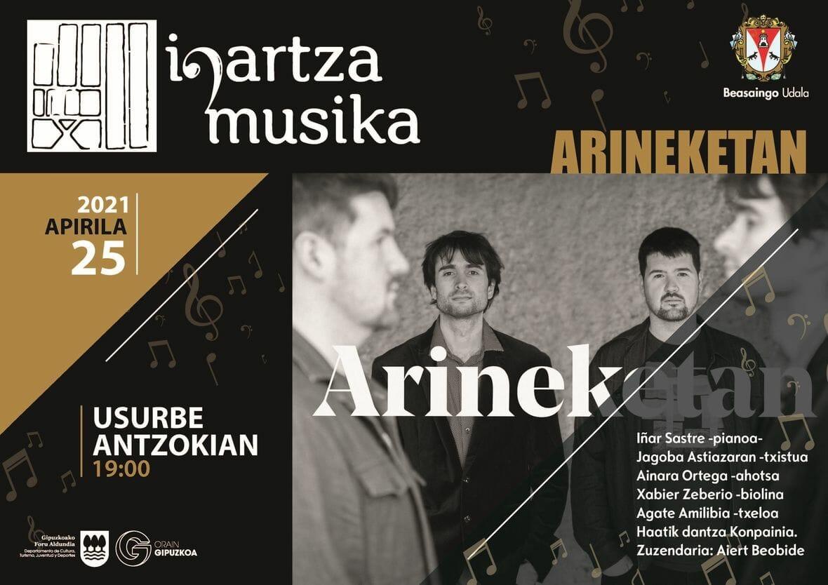 Arineketan Beasainen, Usurbe Antzokia (Igartza Musika)