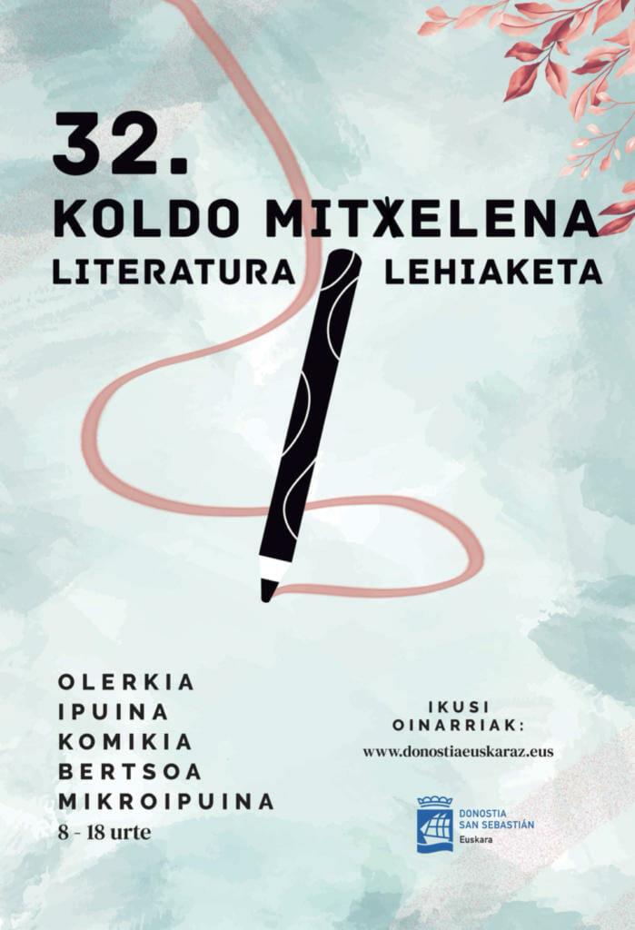 Koldo Mitxelena 32. Literatura Lehiaketaren sari banaketa ekitaldia